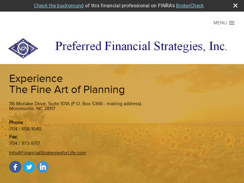 Preferred Financial Strategies, Inc.