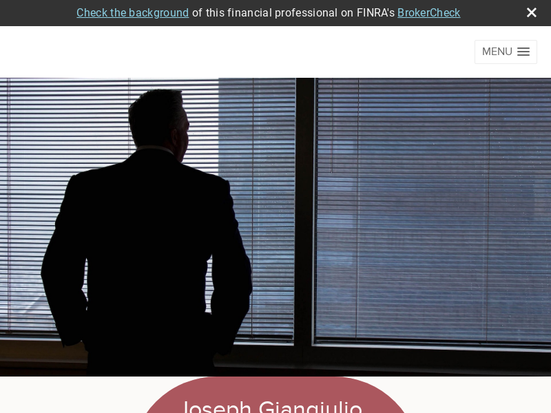 Joe Giangiulio CPA/PFS, CFP, financial advisor, tax planner, Nettworth Financial Group