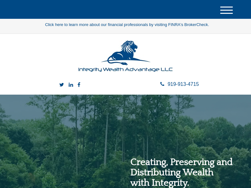 Home | Integrity Wealth Advantage, LLC