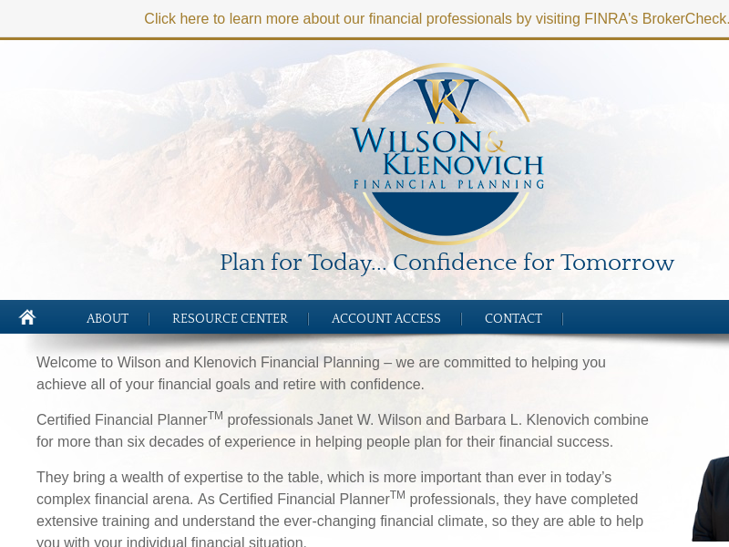 Home | Wilson and Klenovich Financial Planning