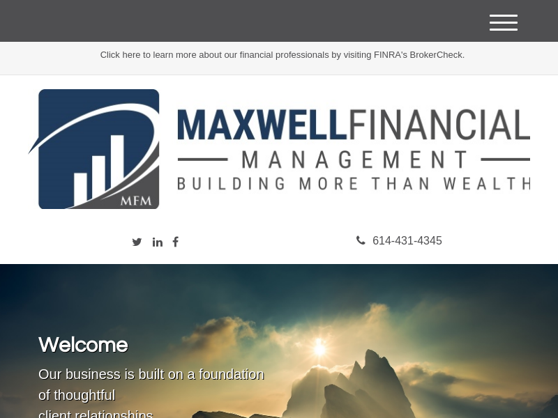 Home | Maxwell Financial Management