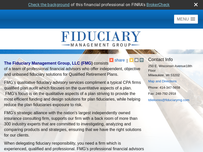 Fiduciary Management Group