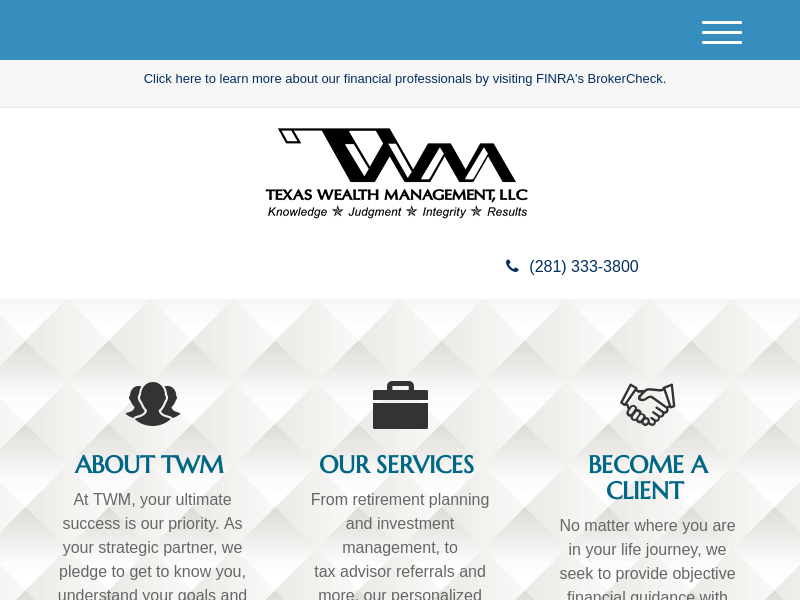 Home | Texas Wealth Management, LLC