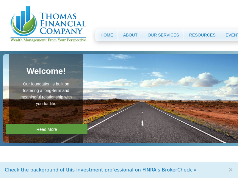 Home | Thomas Financial Company LLC