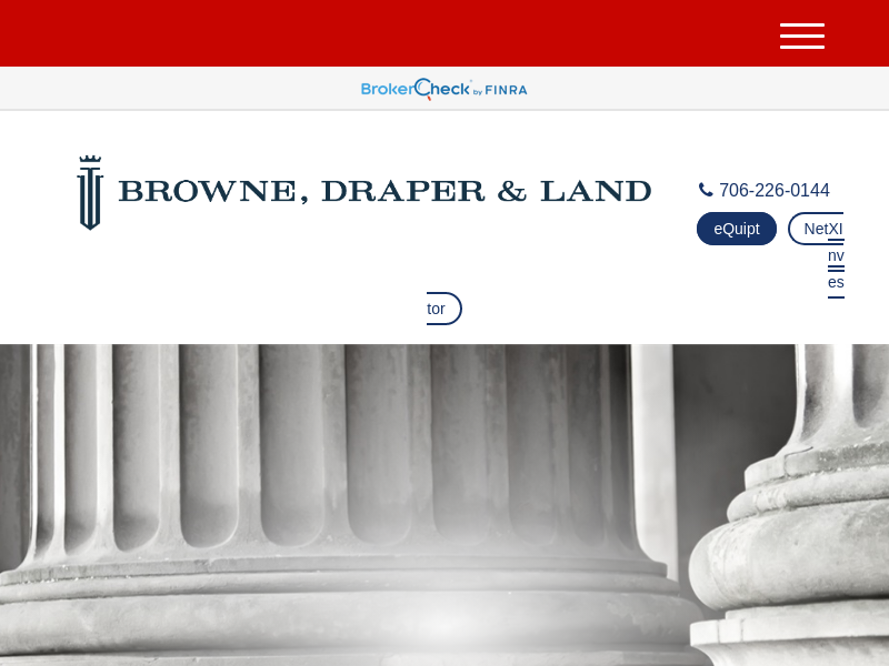 Home | Browne, Draper, & Land Financial Concepts