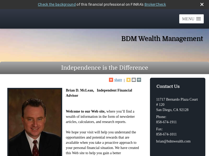 BDM Wealth Management
