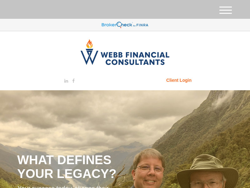 Home | Webb Financial Consultants