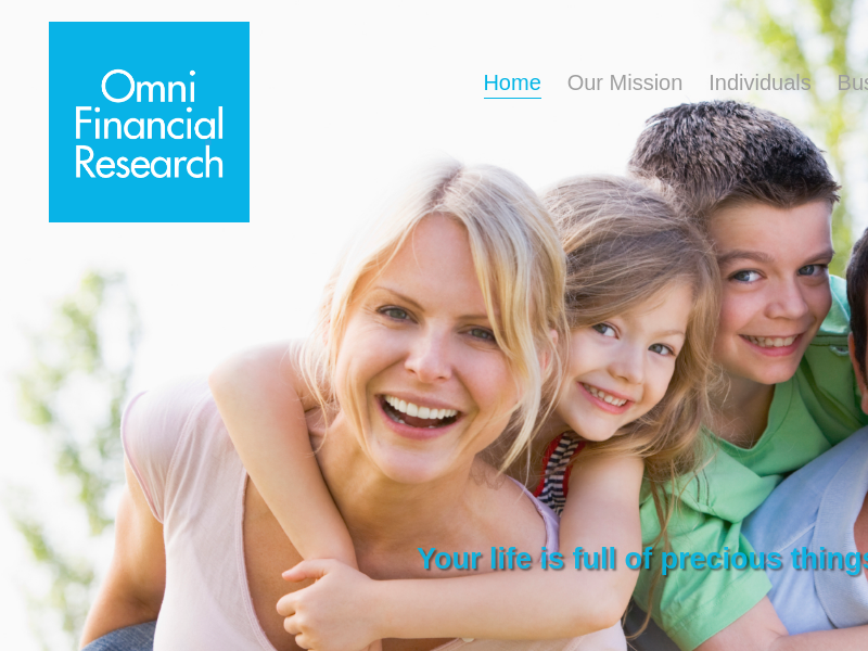 Omni Financial Research | Helping to Build Your Financial Future