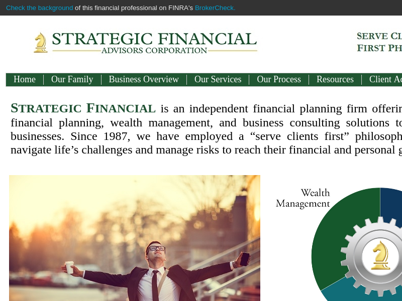 Home - Strategic Financial Services Corporation