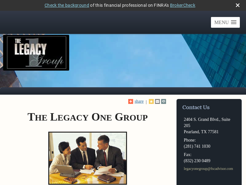 The Legacy One Group