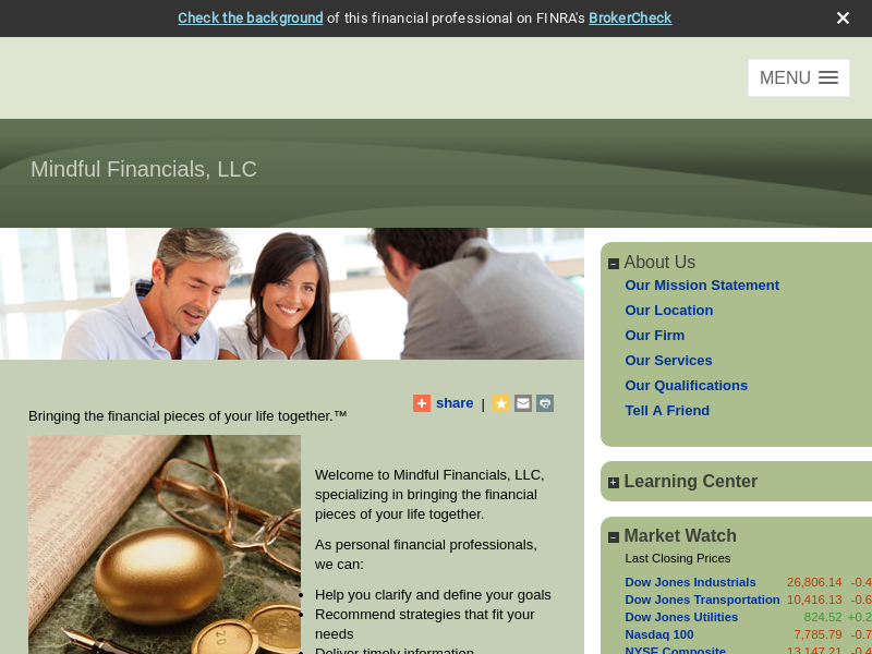 Mindful Financials, LLC