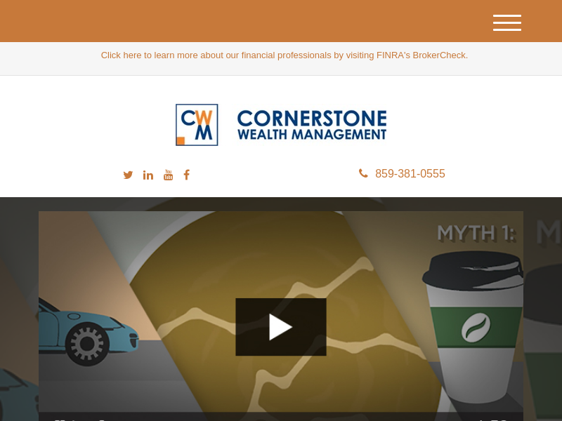Home | Cornerstone Wealth Management