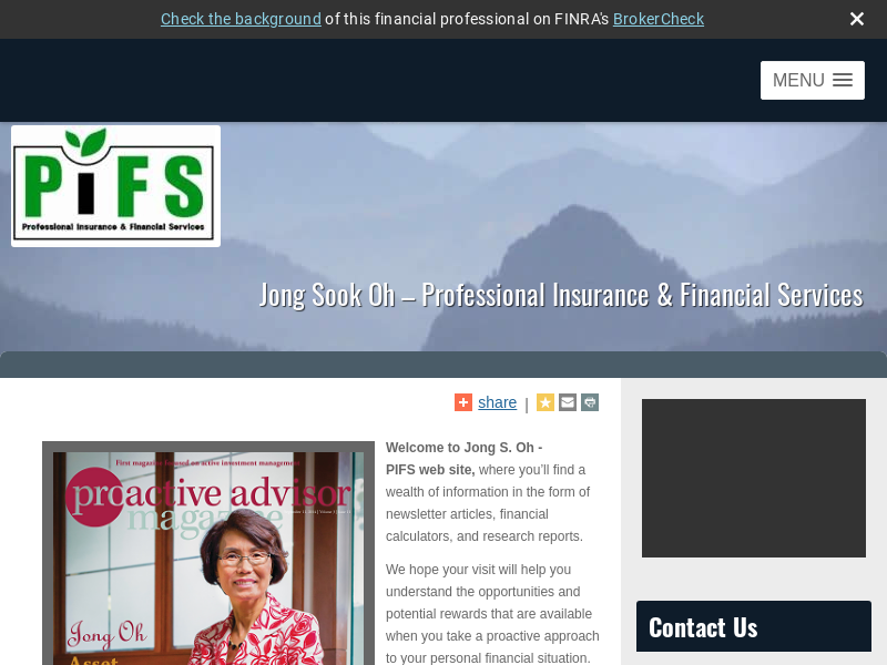 Professional Insurance & Financial Svcs