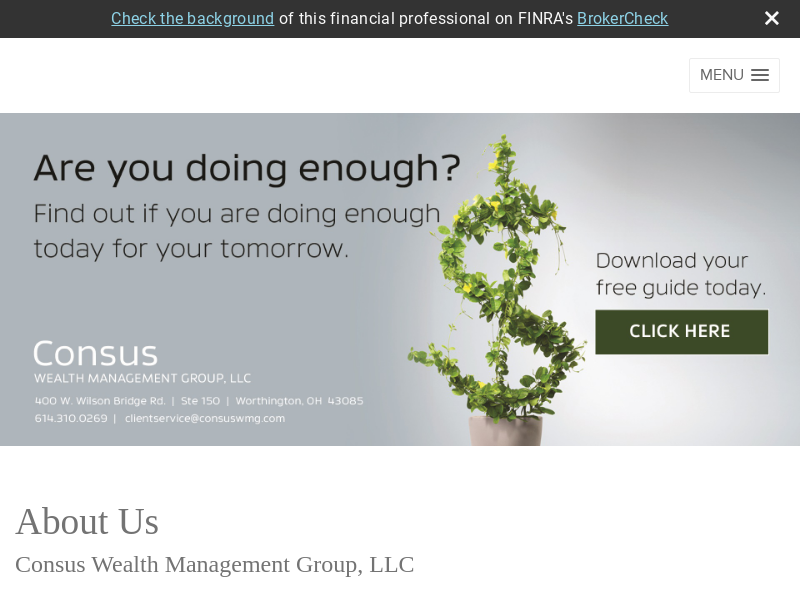 Consus Wealth Management Group, LLC
