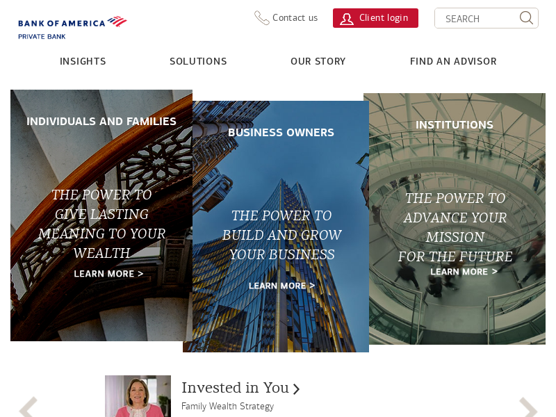 Bank of America Private Bank