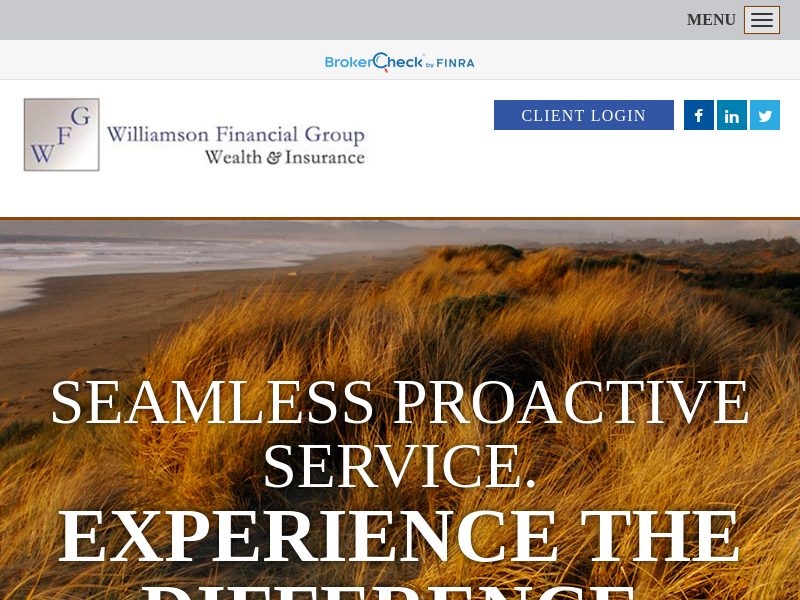 Welcome to Williamson Financial Group
