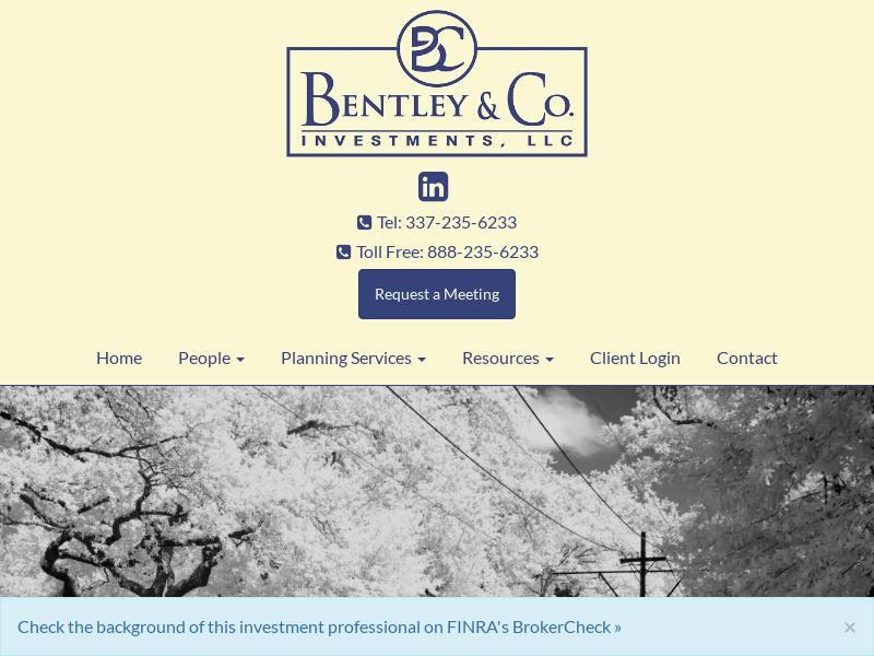 Home   Bentley & Company LLC