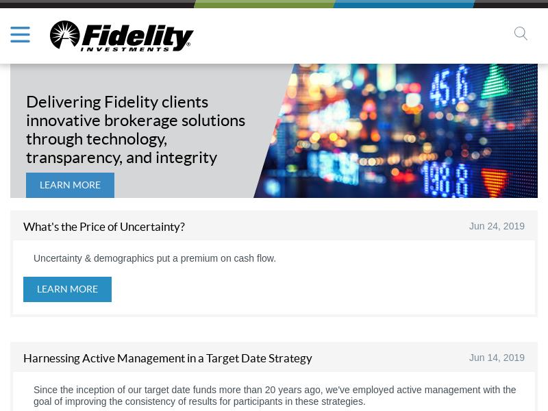 Fidelity Capital Markets