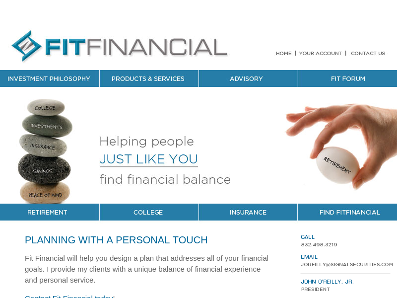 Welcome to Fit Financial