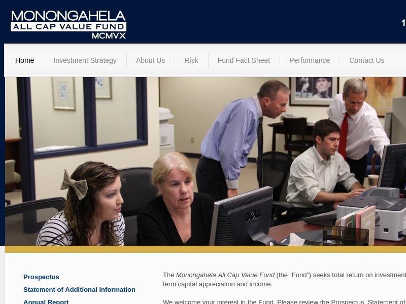 Monongahela All Cap Value Fund – MCMVX |