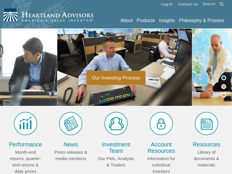 Value Investing Manager Value Mutual Funds | Heartland Advisors