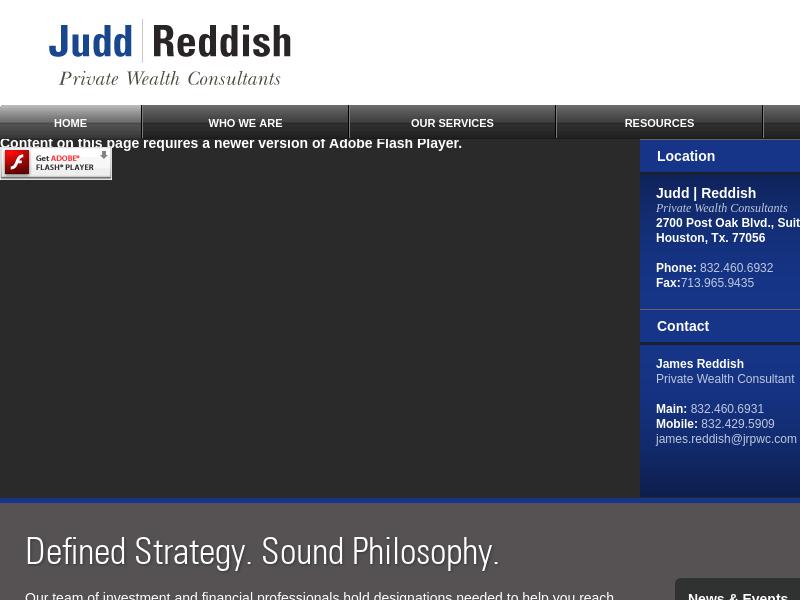 Judd | Reddish