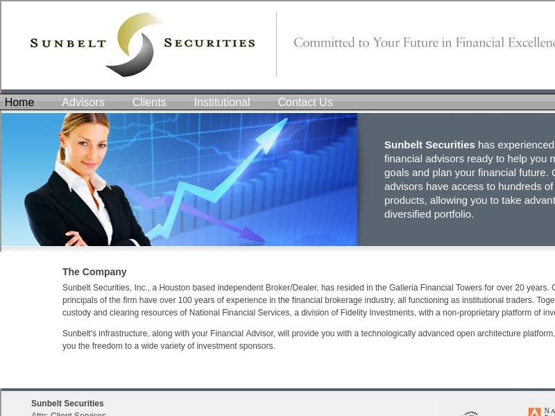 Sunbelt Securities - David Heinz