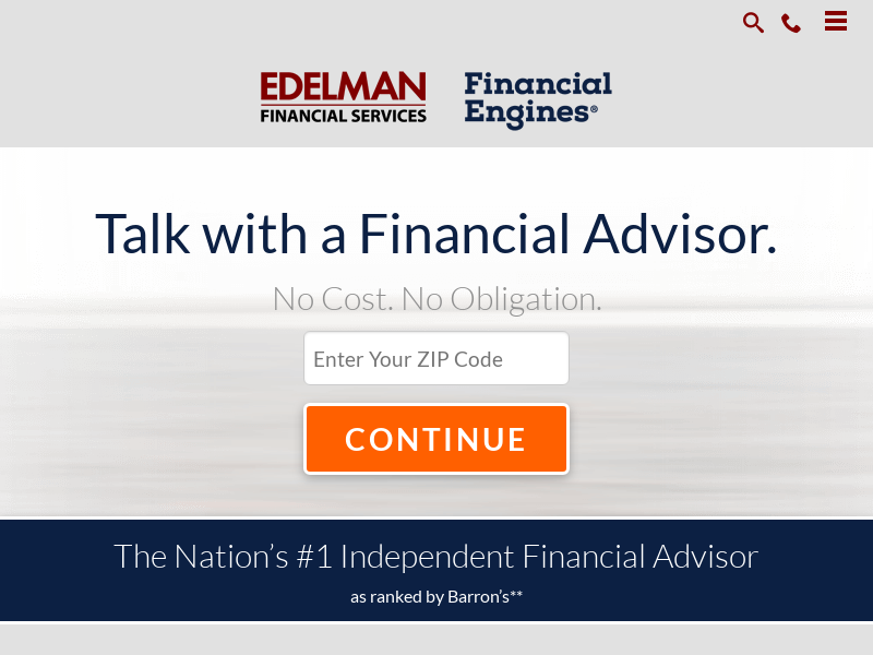 Experts in Financial Planning | Edelman Financial Engines