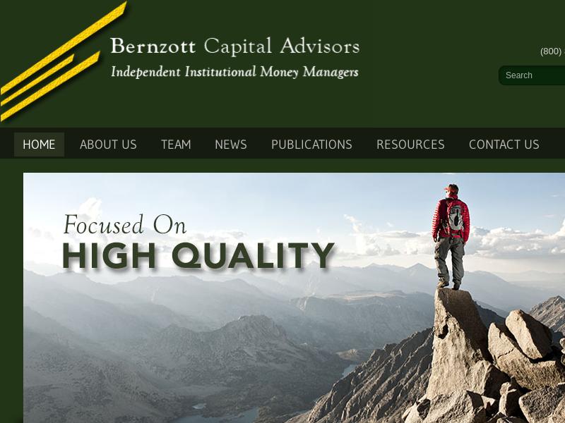 Bernzott Capital Advisors, Inc. - Home