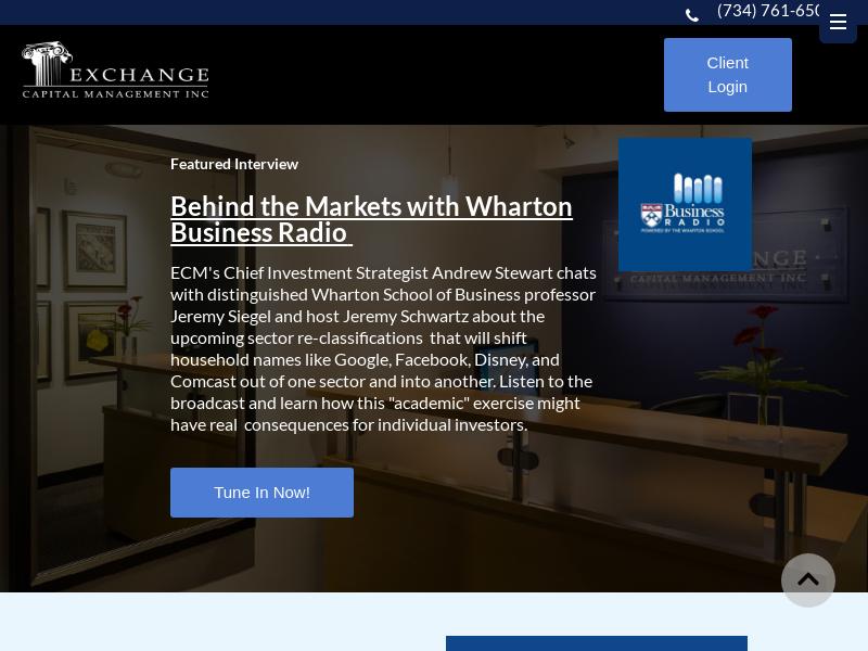 Ann Arbor Investment Advisors|Exchange Capital Management