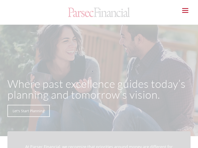 Parsec Financial Planning - Fee Only Financial Advisor in Asheville NC Charlotte NC