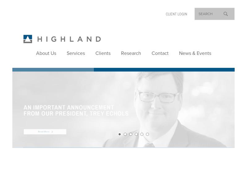 Highland Associates – Transforming portfolios. Advancing missions.