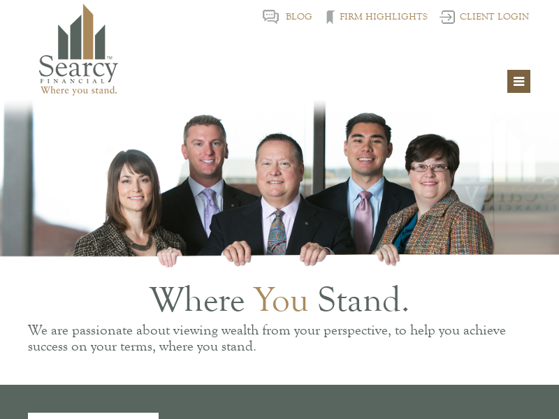 Overland Park & Kansas City Metro, Naples, and Phoenix Fee-Only Financial & Wealth Services | Searcy Financial