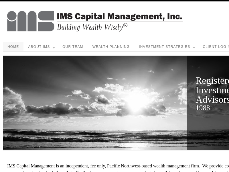 Welcome to IMS Capital Management • IMS Capital ManagementIMS Capital Management | No Load Mutual Funds, Retirement Plans, and Separate Accounts