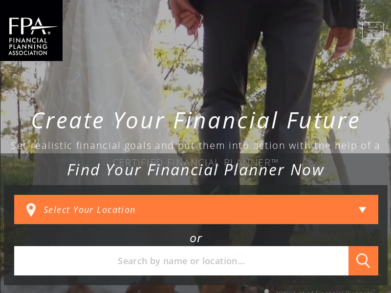 Financial Planners | PlannerSearch