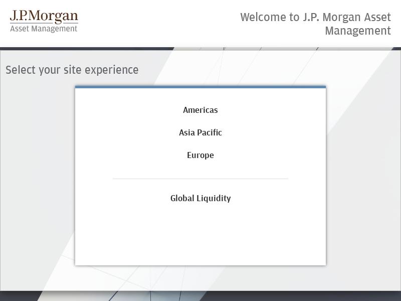 Home - J.P. Morgan Asset Management
