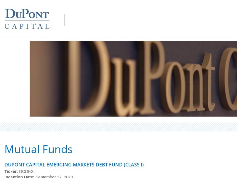 DuPont Capital Management | Just another DuPont Capital Management Sites site