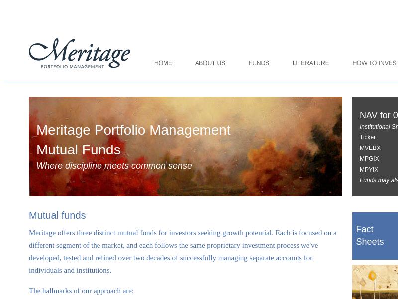 Meritage Mutual Funds