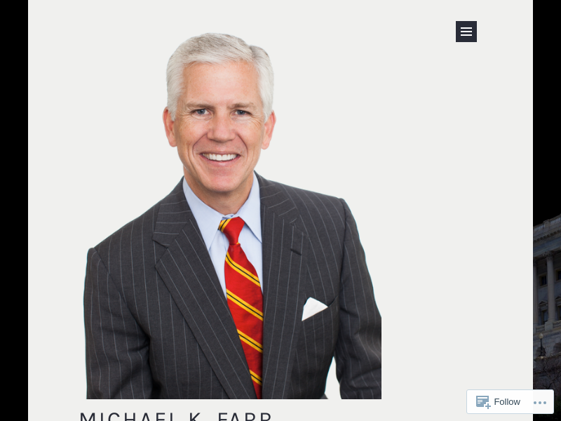 Michael K. Farr – Teaching Where Policy and the Economy Collide