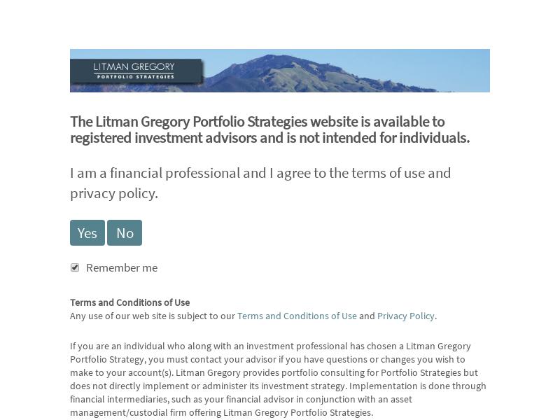 Litman Gregory Portfolio Strategies | Globally Diversified Portfolios