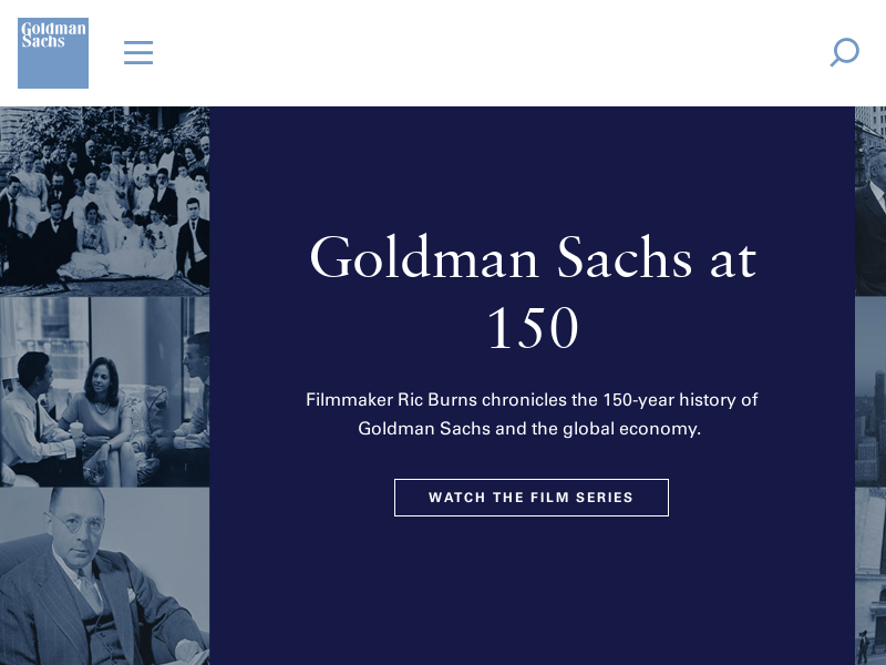 Goldman Sachs - page not found