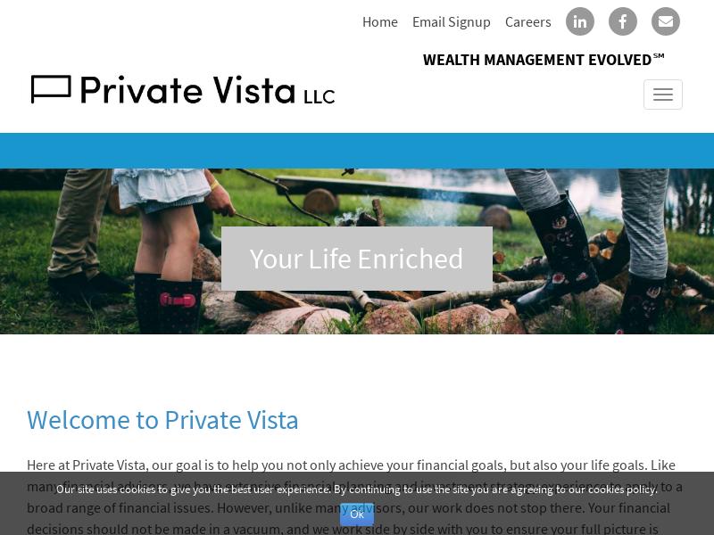 Private Vista   Wealth Management Evolved℠