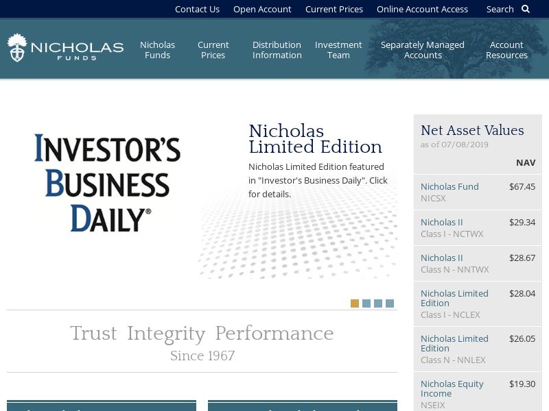 Nicholas Company, Inc.