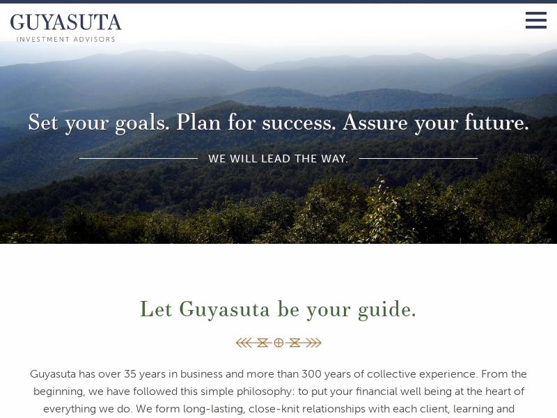 Home | Guyasuta Investment Advisors