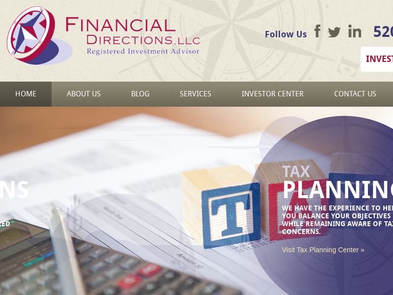 Investment Advisor Tucson | Financial Directions, LLC in Tucson, AZ