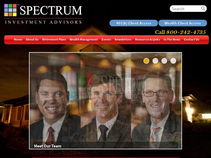 Registered Investment Advisor - Private Wealth Management - Spectrum Investment Advisors