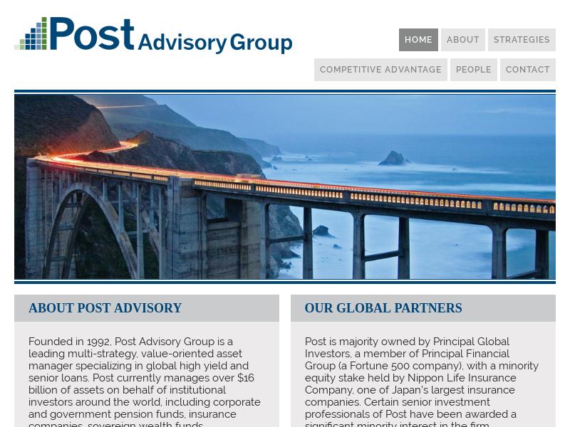 Post Advisory Group, LLC