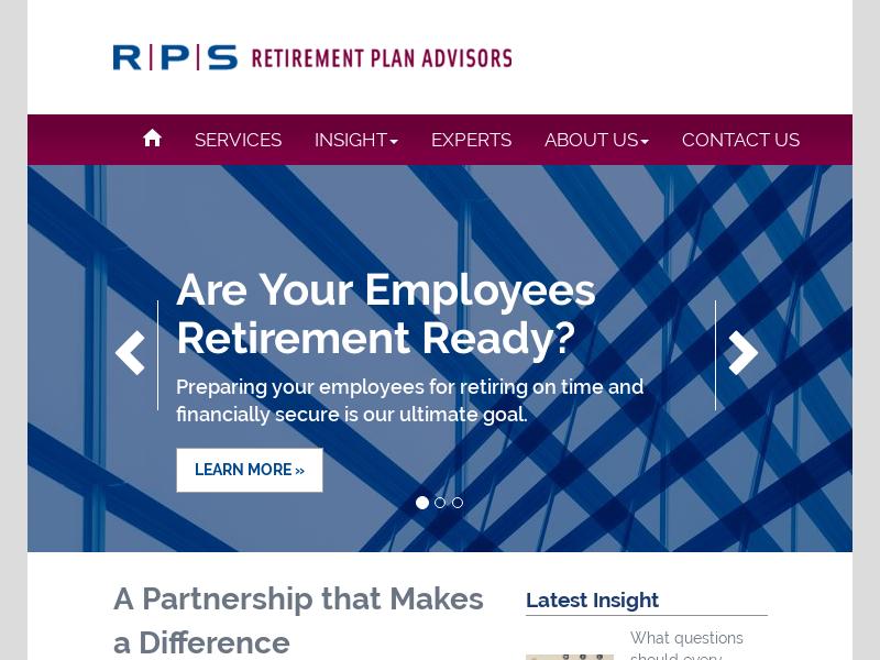 RPS Retirement Plan Advisors | Dallas, Austin
