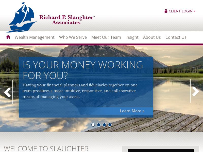 Slaughter Associates | Wealth Management, Financial Planning | Austin TX