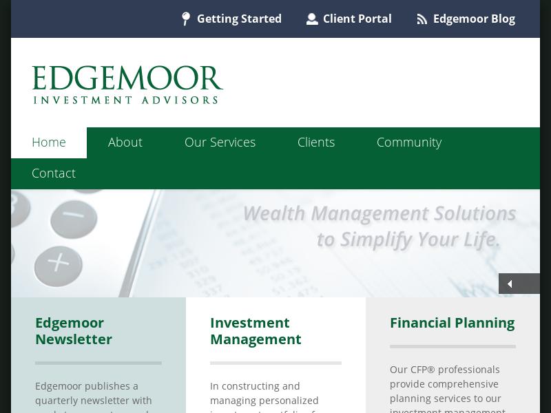 Edgemoor Investment Advisors, Inc.